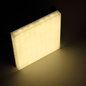 18W Square Shape LED Panel Light Surface Mounted Ceiling Light - Warm White