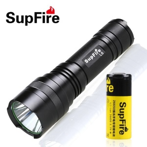 SUPFIRE L6 CREE LED Flashlight Torch Bright Light 1100LM for Outdoor Camping