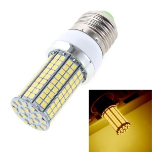 7W E27 SMD2835 180-LED Corn Light Bulb without Lamp Cover - Warm White