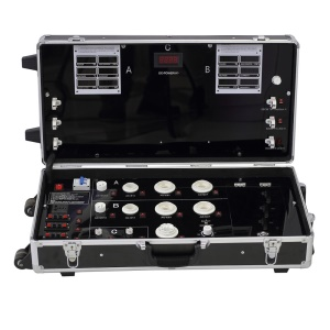 Suitcase Shaped Multi-function LED Lighting Demo Case Bulb Testing with Light Dimmer 680-13P-2