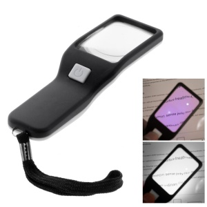 BW-017 Magnifier 5X Magnification with LED UV Light Visual Aid for Seniors