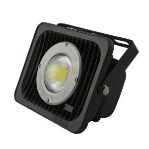 A07 30W AC85-265V 2600-2900LM Square Shape LED Flood Lamp - Warm White (3000-3200K)