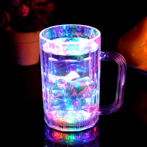 Cool Multi-color Flashing Light LED Beer Bottle for Bars, Cafes etc