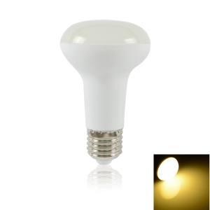 LEXING R63 E27 8W SMD 5730 400LM 18-LED Dimmable Light Globe Lamp AC 220-240V - Warm White