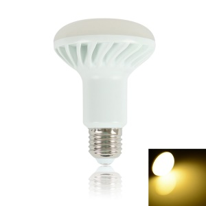 LEXING R80 E27 11W SMD 5630 650LM 24-LED Dimmable Light Globe Lamp AC 220-240V - Warm White