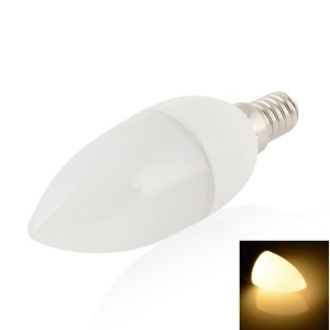 LEXING Dimmable C37 E14 9-LED SMD5630 0-4W 110-130V Candle Light - Warm White