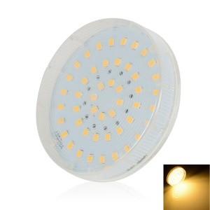 LEXING GX53 48-SMD-2835 4.5-5W Round LED Cabinet Light - Warm White(220-240V)