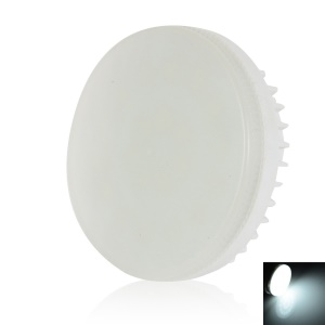 LEXING Dimmable GX53 21-SMD-5730 0-7W Round LED Cabinet Light - Cool White(220-240V)