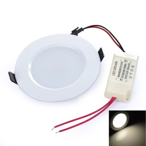 LEXING 3.5-inch 9W SMD 5730 AC 110-240V 18-LED Down Lamp with Driver - Natural White