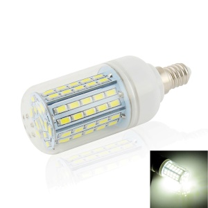 LEXING 7W E14 SMD 5730 AC 110-240V 72-LED Dimmable Corn Light with Cover - Natural White