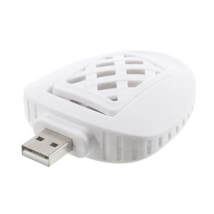 PISEN Mini USB Electric Mosquito Killer 2Pcs of Mosquito Incense for Free - White