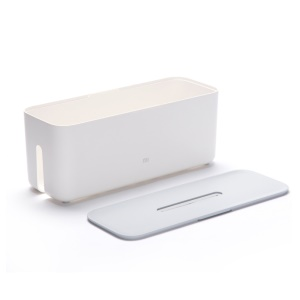 Xiaomi Mi Power Supply Cable-through Storage Box Flame-retardant Case - White