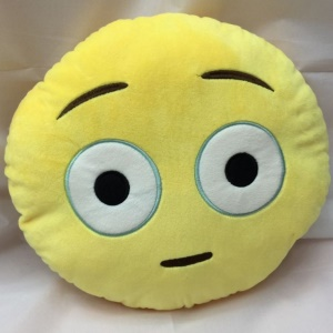 Emoji Emoticon Stuffed Plush Toy Doll Cushion Pillow, Size: 35 x 35cm - Daze