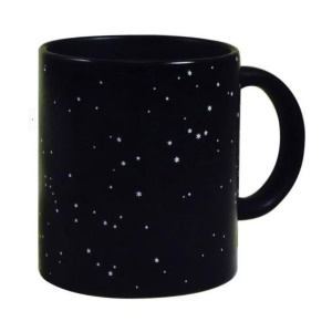 Starry Night to Constellation Heat Changing Mug Ceramic Coffee Tea Cup
