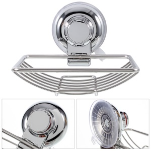 CW802 Stainless Steel Soap Suction Cup Holder for Bathroom Kitchen