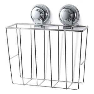 Strong Suction Cups Basket for Magazines and Books CW814