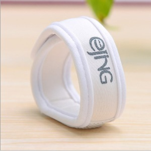 Natural Mosquito Repellent Bracelet + 2 Free Natural Plant Refills - White