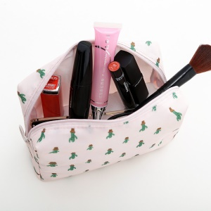 Multi-function Travel Makeup Bag Cosmetic Bag Toiletry Travel Kit Organizer - Pink / Cactus