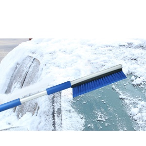 IM-X16 Multi-function Anti-scratch Snow Shovel Winter Ice Scraper for Outdoors Cars - Blue