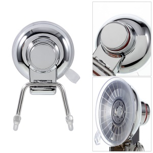 2Pcs/Set CW822 Powerful Suction Cup Stainless Steel Hooks Holder for Home Bathroom Kitchen
