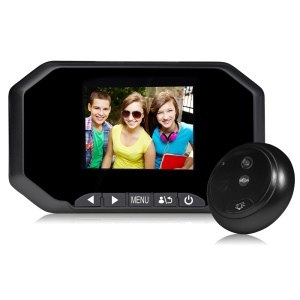 DANMINI YB-30AHD 3.0 inch TFT Digital Peephole Viewer 1.3MP Camera with Night Vision - Black