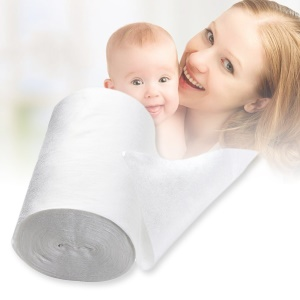 100 Sheet/Roll Baby Flushable Biodegradable Cloth Nappy Diaper Bamboo Liners ZF192500