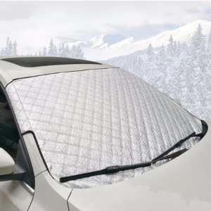 Universal Thick Cotton All Weather Car Windshield Sun Shade Snow Protector Anti-dust Cover