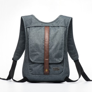 GOX Oxford Fabric Business Laptop Handbag Shoulder Backpack for MacBook iPad - Grey