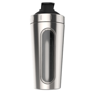 700ml Portable Travel Personal Nutritional Baby for Shake Protein Mixer Cup - Silver Color