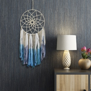 Dream Catcher Pattern Woven Tapestry Home Wall Hanging Decoration Ornament