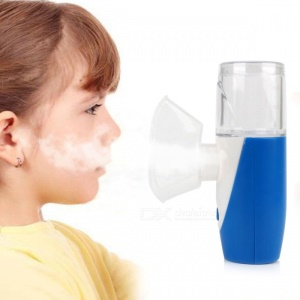 Portable Atomizer Inhaler USB Rechargeable Ultrasonic Nebulizer Humidifier