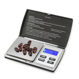500g x 0.01g Stainless Steel Precision Digital Scale