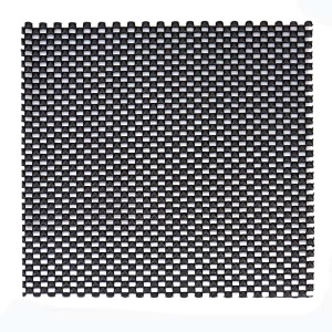 Grid Pattern PVC Non-adhesive Grip Liner Shelf Liner Anti-slip Mat Drawer Liner Bathroom Kitchen Waterproof Floor Mat - Black