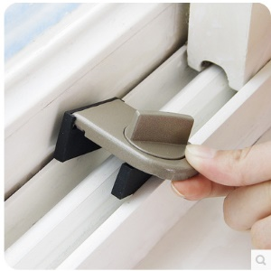 Sliding Sash Stopper Lock Anti-theft Window Sliding Door Baby Kids Child Safety Doors Lock