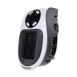 Portable Heater Wall Plug-in Handy Personal Space Heater for Indoor Heating Camping EU Plug
