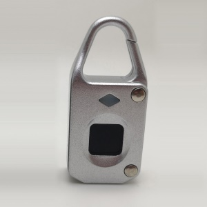 Intelligent Fingerprint Lock for Drawer Cabinet Anti Theft Security Lock - Silver