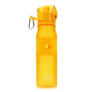 JOYROOM 620ML Colored Sport Water Bottle Leak-proof for Outdoor Camping Hiking - Yellow