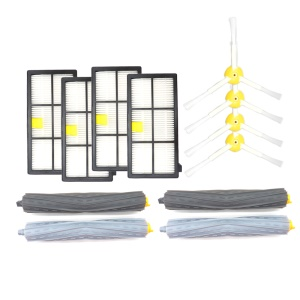 Brush Filter Debris Extractor Set Replacement Parts for iRobot Roomba Sweeping Robot 800/900 Series