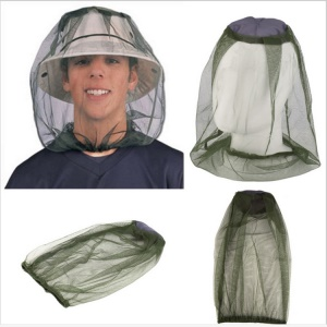 Mosquito Insect Hat Bug Mesh Head Net Face Protector Travel Camping Hedging Anti-mosquito Cap