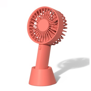 XIAOMI YOUPIN VH Adjustable Base Portable Handheld Fan 3 Wind Speed USB Rechargeable - Pink