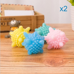 8pcs Solid Colorful Laundry Balls Washing Balls