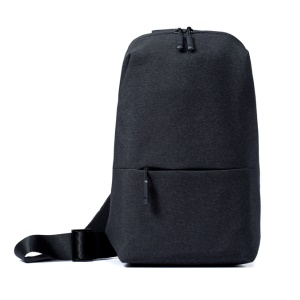 XIAOMI Multifunctional Cross-Body Casual Bata Pacote Messenger Bag - escuro cinza