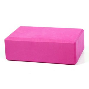 High Density Eva Foam Yoga Brick Block Exercise Fitness Aid - Rose