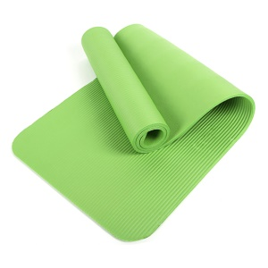 15mm Thick NBR Exercise Yoga Mat Pad (183 x 61cm) - Green