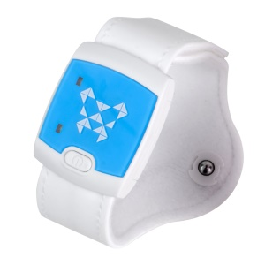 LEEHUR Baby Intelligent Thermometer Wearable Electronic Fever Monitor Smart Device - White