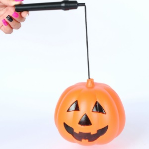 Halloween Lighting Handheld Pumpkin LED Lamp Festival Props Middle Size