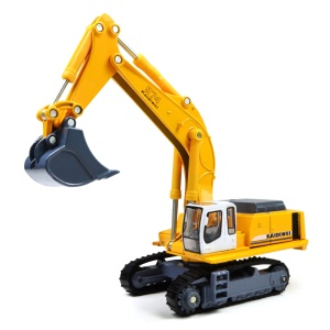 1:87 Scale Caterpillar Alloy Excavator Models Carrier Truck Toy