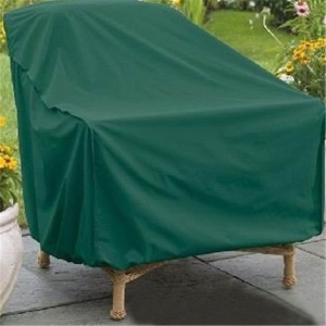 Classic Accessories Outdoor PEVA Square Patio Chair Cover, Size: 152 x 104 x 71cm - Green