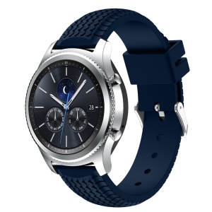 Cool Tyre Silicone Replacement Sport Strap for Samsung Gear S3 Frontier/Classic - Dark Blue