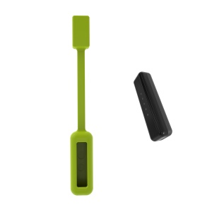 Strong Magnetic Silicone Clasp for Fitbit Flex 2 - Green